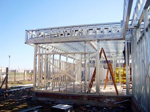 steel framing, casas duplex ampliaciones entrepisos