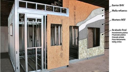 steel framing. casas. reformas. ampliaciones. barbacoas