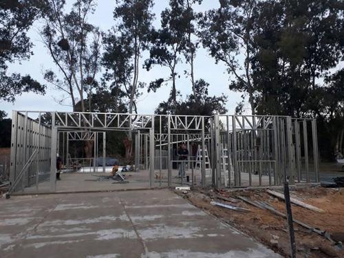 steel framing .construccion en seco .llave en mano u$700  m2