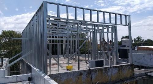 steel framing  construcción en seco x m2 llave en mano