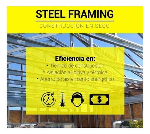 steel framing,construcción en seco