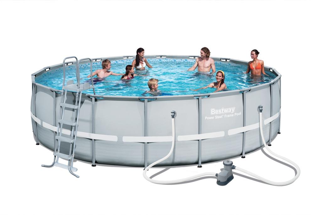 Steel Pro Frame Pool Set 549cm - Bestway - S/ 2.699,90 en Mercado Libre