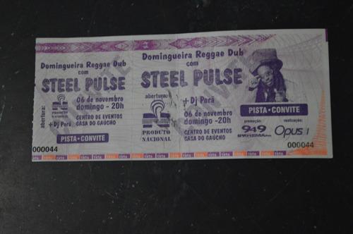 steel pulse porto alegre ingresso