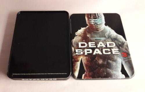 steelbook dead space 3. 2 cajas metálicas
