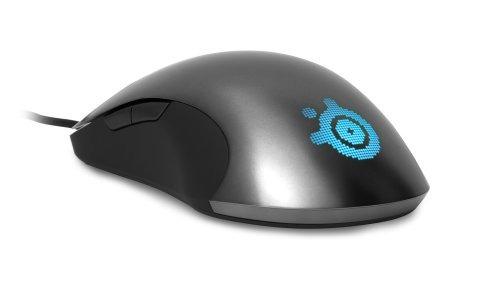 steelseries sensei laser gaming mouse - cinza