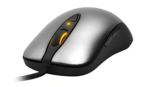 steelseries sensei laser gaming mouse - cinza