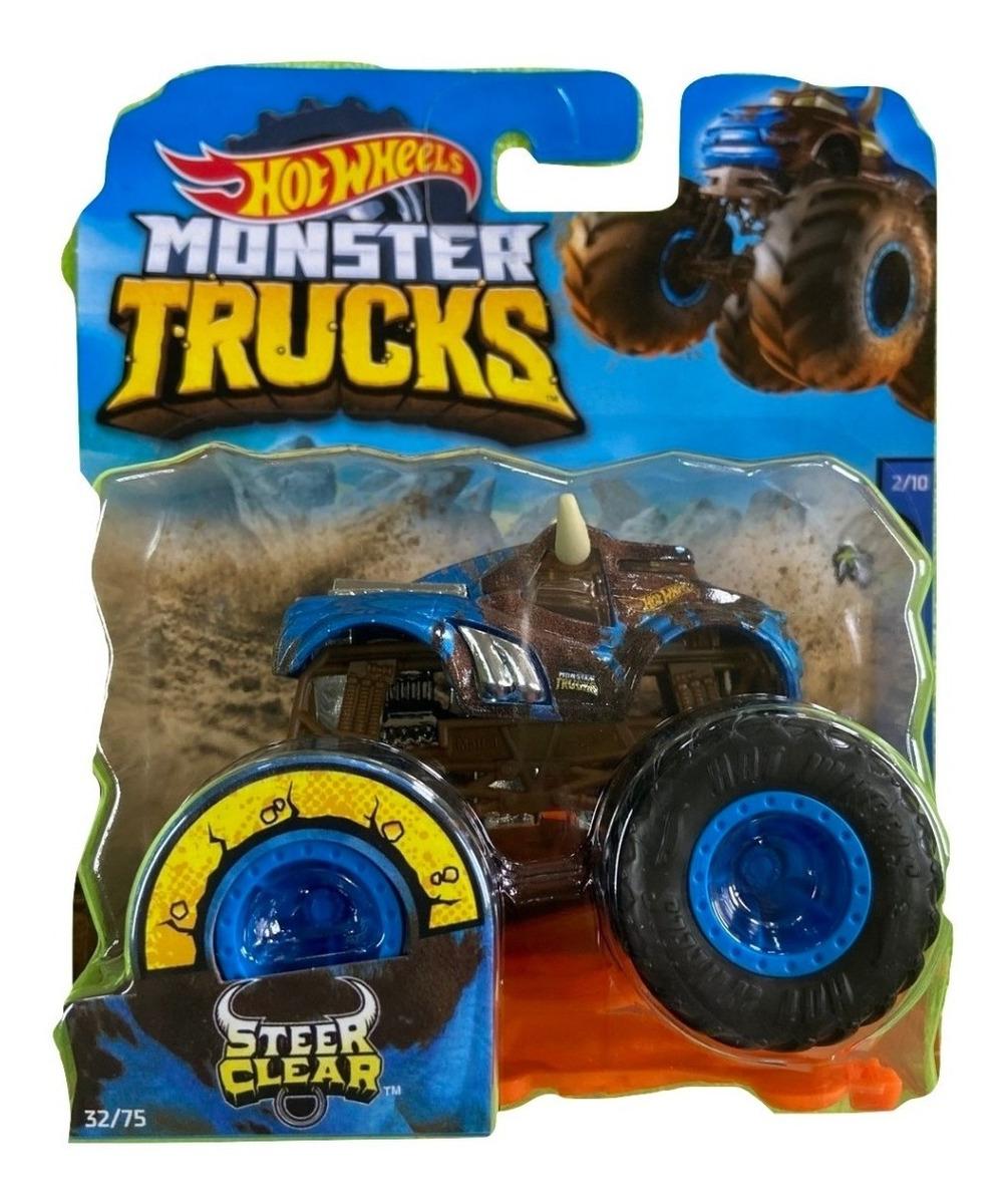 Espacodiecast Steer Clear Animal Attack Monster Trucks Hot Wheels 1 64 R 49 95