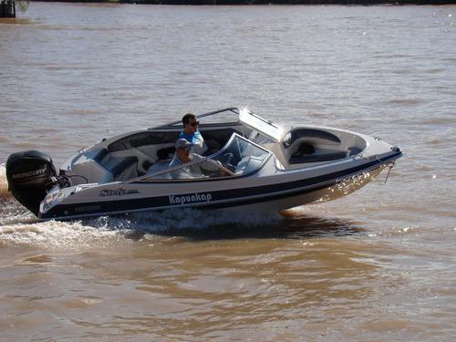 stefy 4,9 m con mercury 60 hp 4 tiempos ecologico oportunida