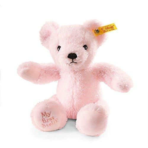 steiff my first steiff teddy bear plush pink