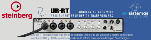 steinberg ur-rt2 interface usb rupert neve designs d-pre