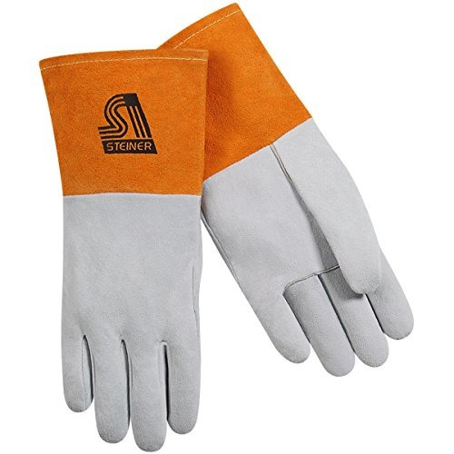 steiner 0220x tig guantes split piel de venado sin forro 4 p