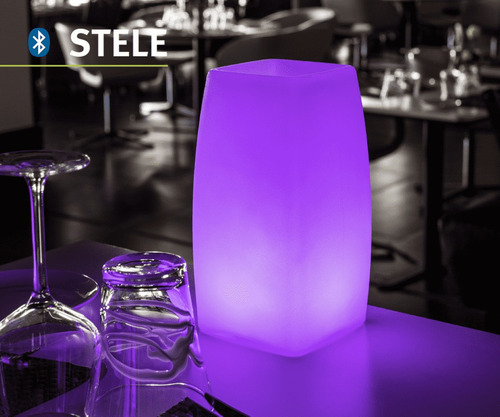 stele lámpara led bluetooth de interior y exterior