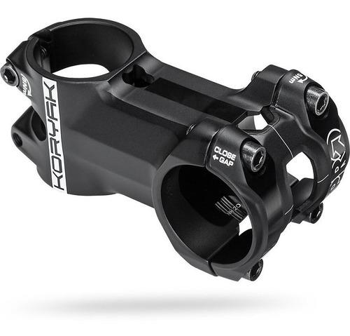 stem bicicleta pro (shimano) koryak 80mm 31,8mm negro - racer bikes