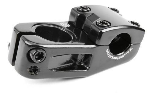 stem bmx profesional salt pro ¡aluminio 6061 t6! top negro