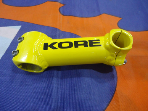 stem mtb kore lite 3d made in usa vintage amarillo 110mm