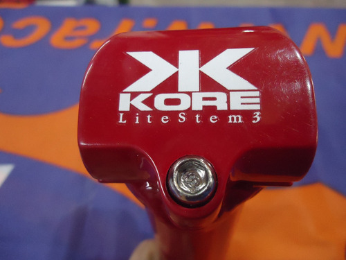 stem mtb kore lite 3d made in usa vintage rojo 120mm