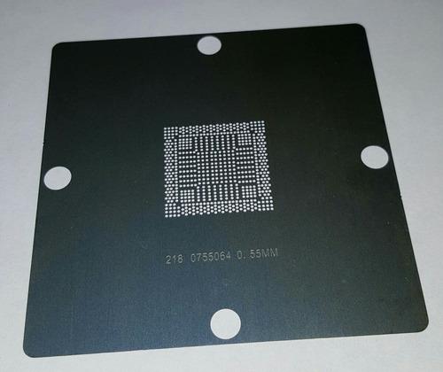 stencil 218-0755064 de 80x80 0.55mm