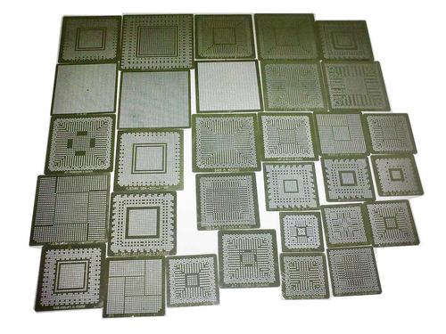 stencil calor direto 0,50 - 31 peças