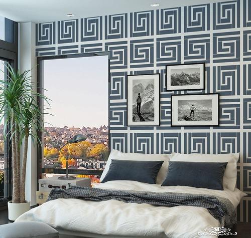 stencil grecas cla plantilla decorativa reusable para pintar