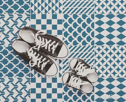 stencil mosaicos cg plantilla decorativa reusable parapintar