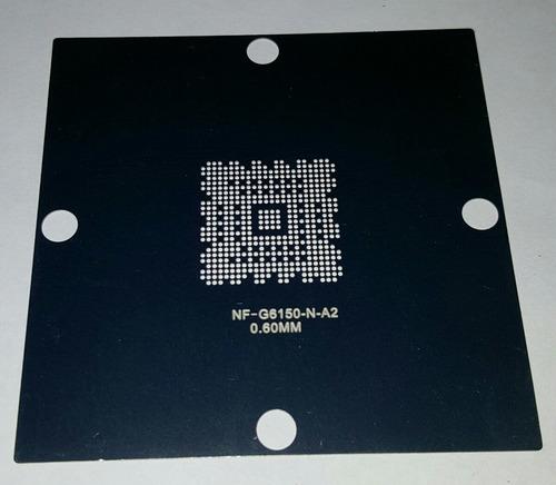 stencil nf-g6150-n-a2 nf-spp-100-n-a2  de 80x80  0.6mm
