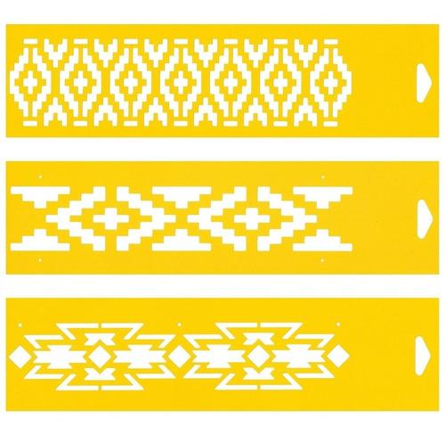 stencil plantec mediano 80x300mm ideal para guardas