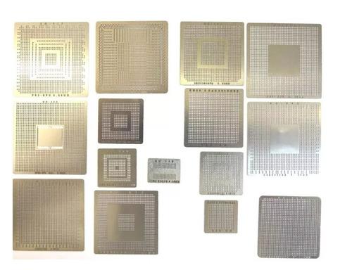 stencil ps3 ps4 xbox 360 slim calor direto 15 peças bga