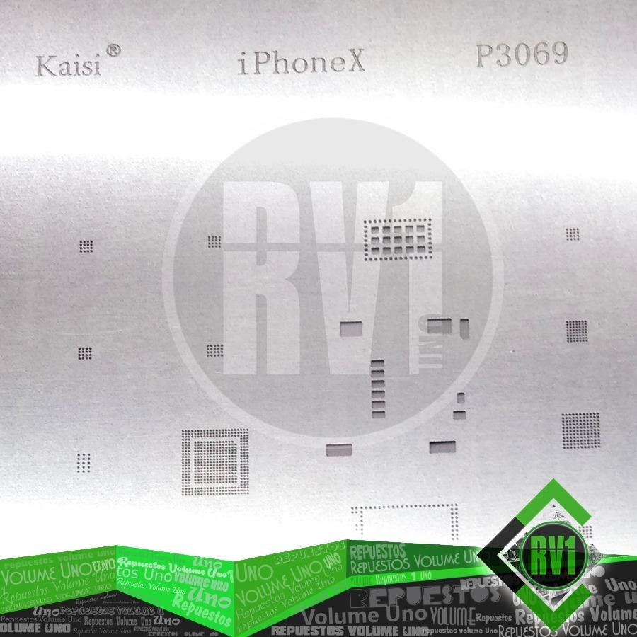 Stencil Reballling iPhone 5s - P3018
