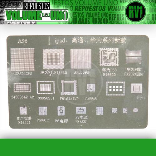 stencil reballling iphone ipad smartphones mtk