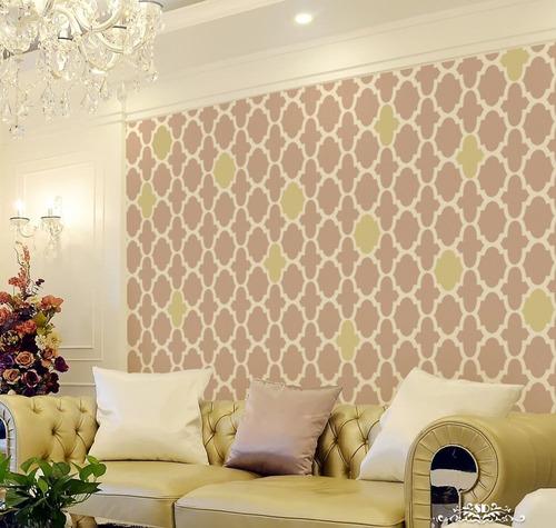 stencil tm patron plantilla decorativa reusable para pintar