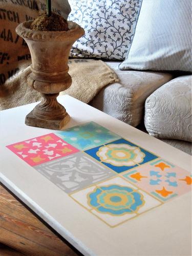 stencils. decorá tus paredes, muebles, accesorios.calcáreos