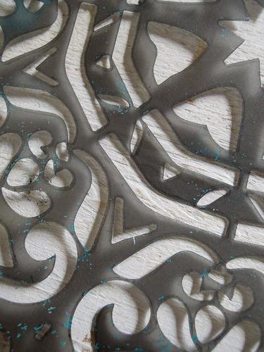 stencils. decorá tus paredes, muebles y accesorios. mandala