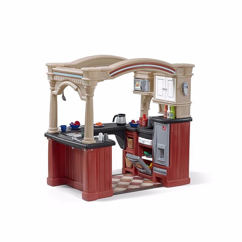 Step 2 cocina juguete guarder a con accesorios 9 950 for Cocina de juguete step 2