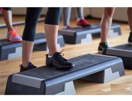 step aerobico com altura regulavel academia casa funcional
