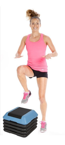 step aeróbico profesional  5 niveles - sdmed fitness
