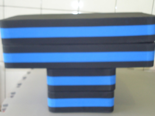 step eva academia ginastica aeróbica fitness 60cmx28cmx10cm