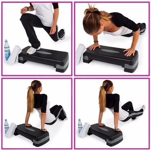 step importado regulable pilates, aeróbicos