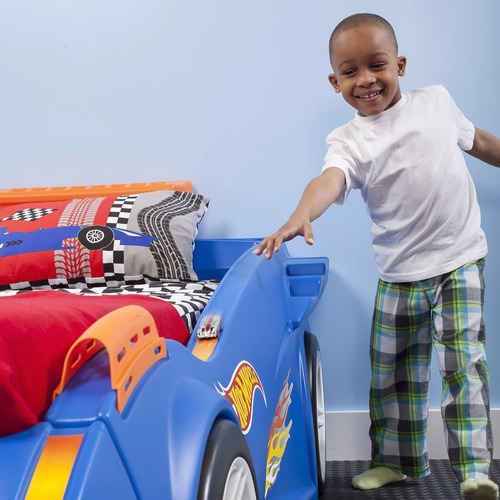 step2 hot wheels bed cama bebes niños