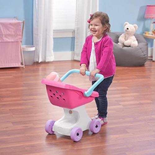 step2 love&care doll stroller-carriola para muñecas