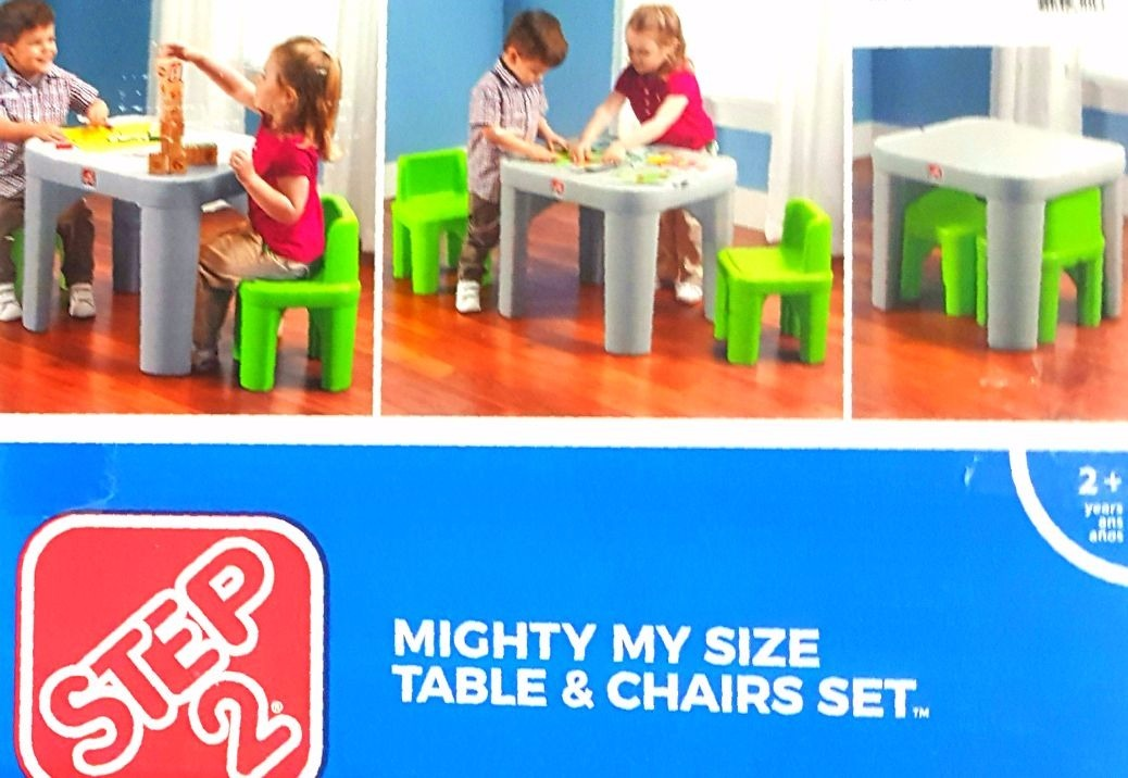 Sophisticated Mighty My Size Table & Chairs Set Pictures - Best ...