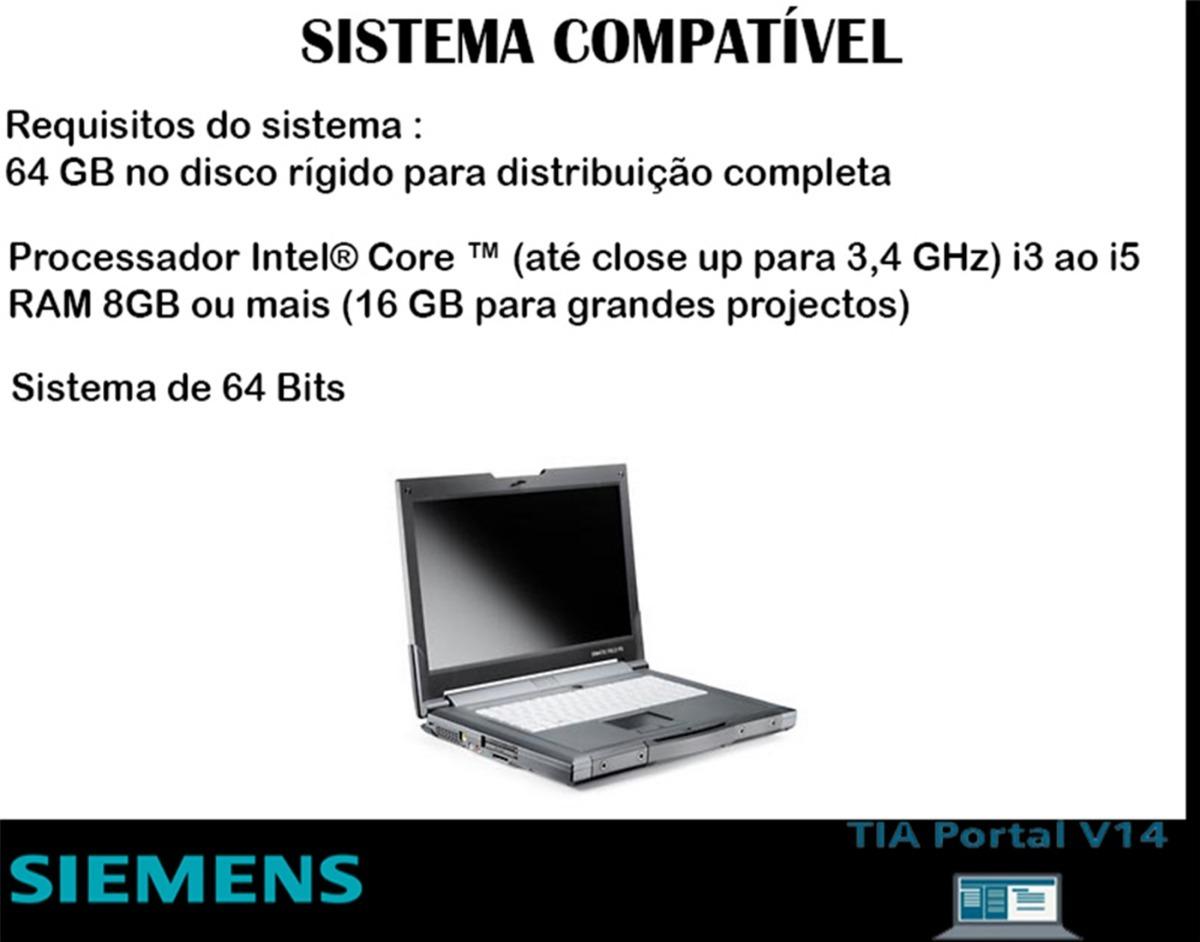 Step7 Profissional + Wincc Profissional + Plcsim Tia V14 Sp1