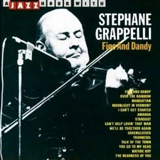 stephane grappelli - fine and dandy - cd