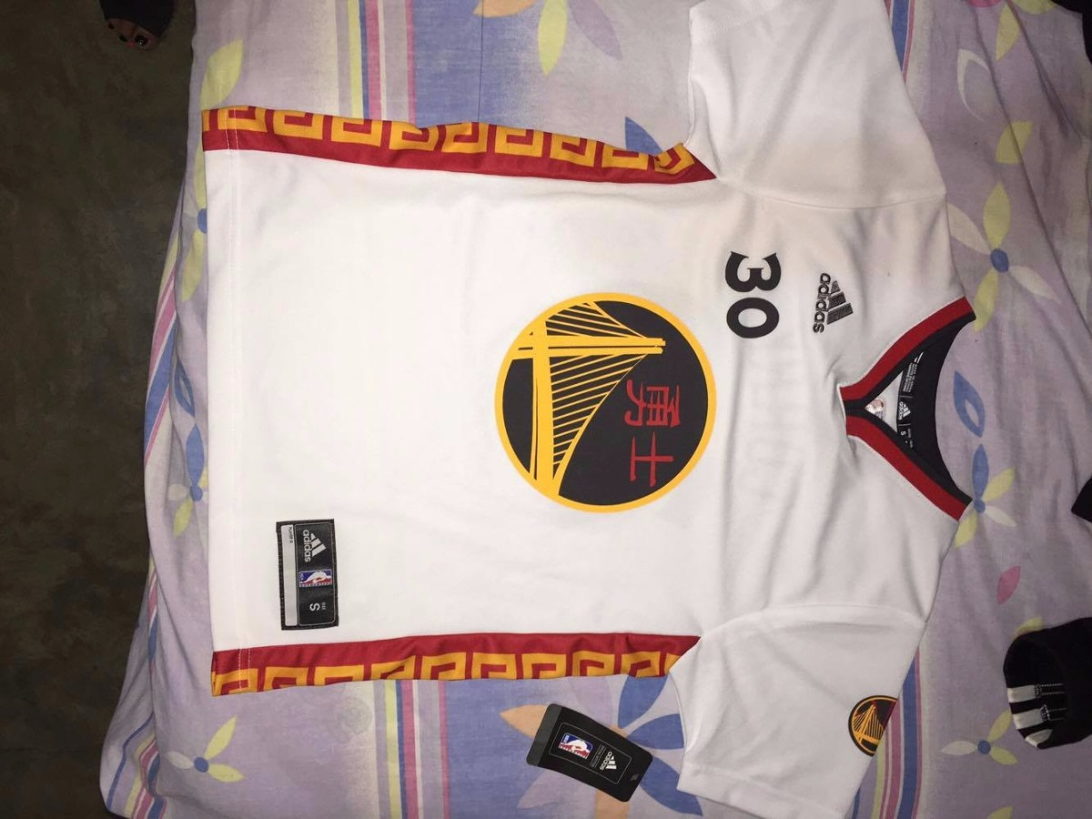 new concept d3696 69e25 Stephen Curry Jersey: adidas 2017 Chinese Heritage #30