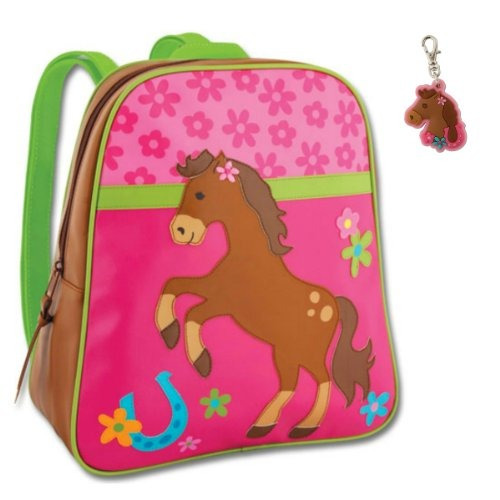 stephen joseph mochila chica caballo con lengüeta de...