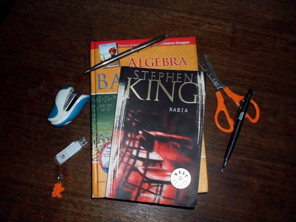 Stephen King Rabia Terror Libro Prohibido Terror