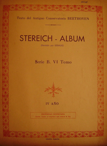stereich-serie b-tomo vi cuarto año-buen estado-envios oca