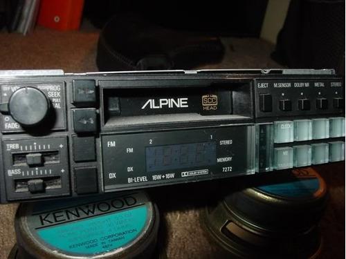 stereo alpine a cassette (a reparar)