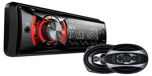 stereo auto ca 1000rx bt + parlante gtx 690 x-view