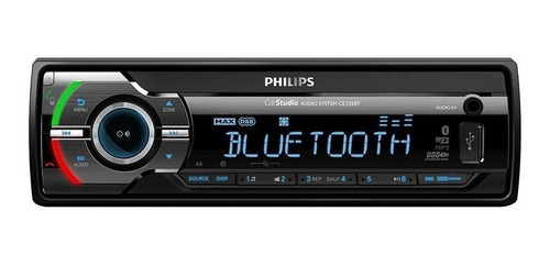 stereo auto philips bluetooth ce235bt/56 usb aux 6 cuotas