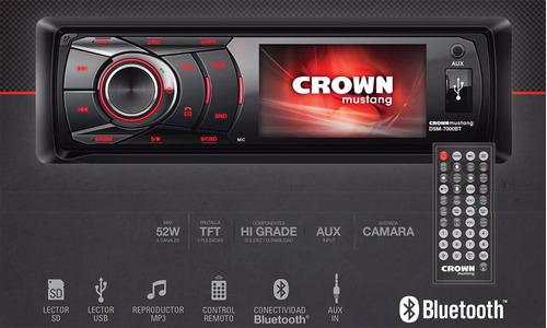 stereo crown mustang dsm 7000 pantalla